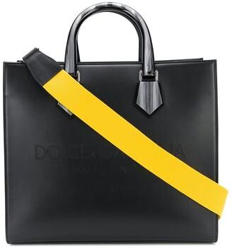 Dolce & Gabbana Logo Embossed Tote