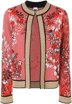 M Missoni floral embroidered jacket