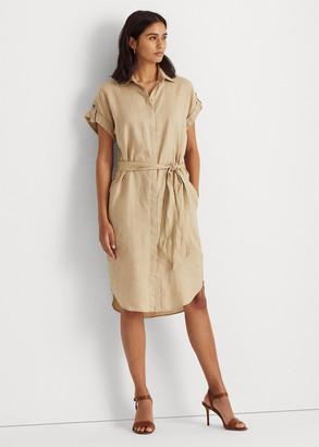 Ralph Lauren Linen Shirtdress