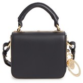 Sophie Hulme Small Finsbury Leather Crossbody Bag - Black
