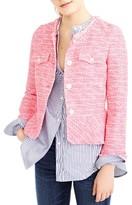 J.Crew Women's Tweed Peplum Lady Jacket