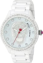 Betsey Johnson Women's Quartz Metal and Alloy Casual Watch, Color: (Model: BJ00517-56)