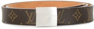 Louis Vuitton 2003 Carre buckle belt