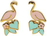 Marc Jacobs Pink Flamingo Earrings