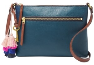 Fossil Fiona Crossbody With Tassel