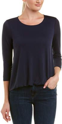 Three Dots Front Tuck T-Shirt