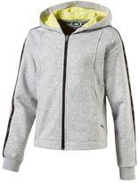 Puma Girls' Sportstyle Full Zip Hoodie