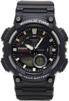 G-Shock G SHOCK Casio Mens Black 3D Dial Heavy Duty Strap Watch AEQ110W-1AV