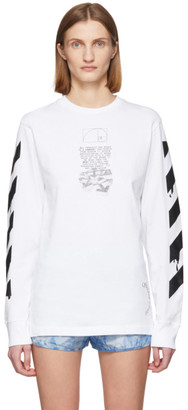 Off-White White Pencil Arrows T-Shirt