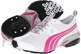 Puma Cell Turin 3 BT Wn's (White/Rose Violet Silver) - Footwear