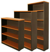 Logan 180cm Bookcase Finish: Beech