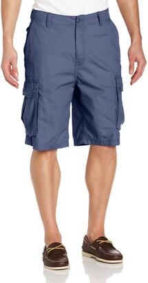 Nautica Men's Mini Ripstop Twill Cargo Short
