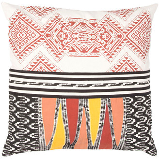 Jaipur Rugs Modern & Contemporary Pattern Cotton Pillow