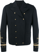 Ports 1961 military style blazer - men - Cotton/Cupro/Viscose - 46