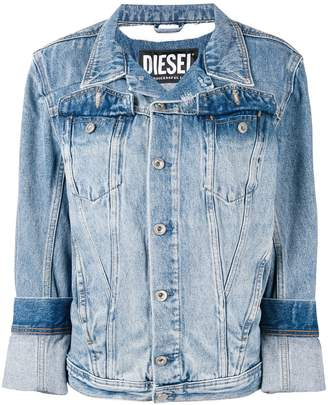 Diesel slim fit denim jacket