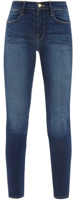 Frame Le High High-rise Skinny-leg Jeans - Denim