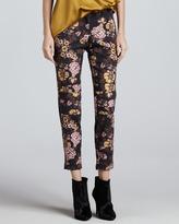 Elizabeth and James Lohmann Floral-Print Pants