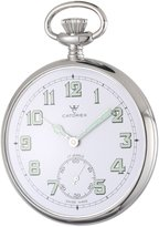 Palladium Catorex Men's 170.1.1810.121 La Pautele Brass White Dial Pocket Watch