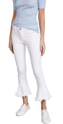 Blank NYC Women's Ruffle Hem Skinny Pants