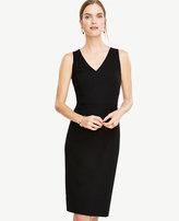 Ann Taylor Tall Seasonless Stretch Seamed Sheath Dress