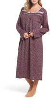 Eileen West Plus Size Women's Cotton Nightgown
