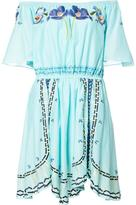 Temperley London off the shoulder mini dress - women - Cotton - 6