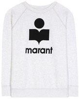 Etoile Isabel Marant Isabel Marant, Étoile Milly cotton-blend sweatshirt