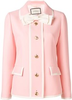 Gucci bow detail jacket