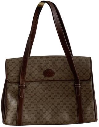 Gucci Brown Cloth Handbags