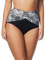 CoCo Reef Women's Harmony Mix Diva High Waist Bikini Bottom