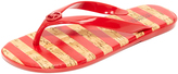 MICHAEL Michael Kors Jelly Jet Set Flip Flops