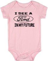 VRW I see a Ford in my future unisex baby Onesie Romper Bodysuit (12-18 months, )