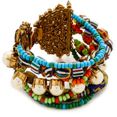 Erickson Beamon Imitation Pearl Safari Bracelet