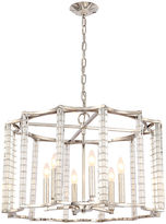Crystorama Carson Chandelier, Nickel
