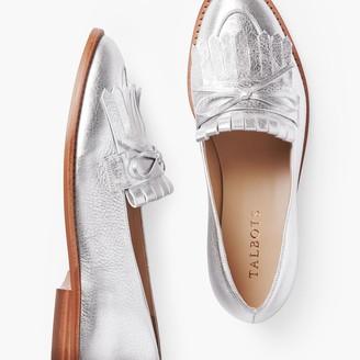 Talbots Leighton Kiltie Loafers - Pebbled Leather