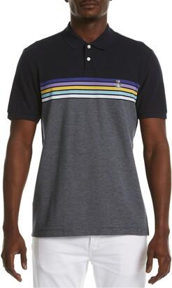 Original Penguin Chest Stripe Short Sleeve Polo