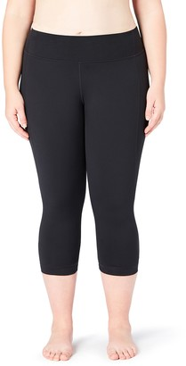 Core 10 Amazon Brand Womens Build Your Own Yoga Pant - Medium Waist 7/8 Crop Legging
