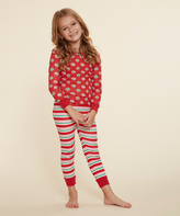 Dollie & Me Red Dot & Stripe Pajama Set & Doll Outfit - Toddler & Girls
