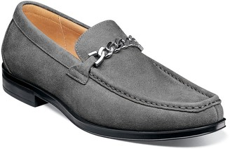 Stacy Adams Norwood Moc Toe Bit Loafer - Wide Width Available