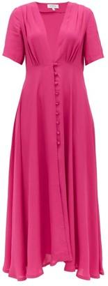 Gioia Bini Carolina Short-sleeved Cady Dress - Pink