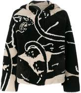Valentino panther hooded coat