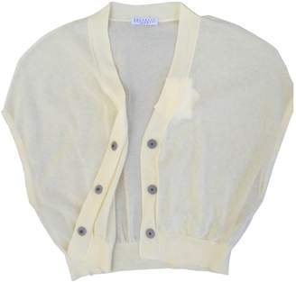 Brunello Cucinelli Yellow Cotton Knitwear for Women