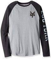 Zoo York Men's Cracker Jack Long Sleeve Raglan