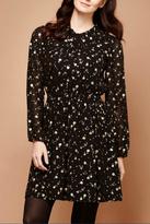 Yumi Gold Foil Dress