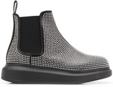 Alexander McQueen studded chunky sole ankle boots
