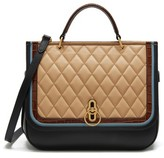 Mulberry Amberley Quilted Calfskin Leather Satchel - Black