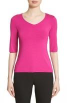 Armani Collezioni Women's Stretch Jersey Top