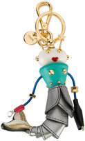 Prada Mermaid bag charm