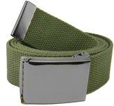 Build A Belt Wide 1.5 Pewter Flip Top Men's Belt Buckle with Canvas Web Belt Large