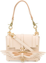 Niels Peeraer bow front shoulder bag